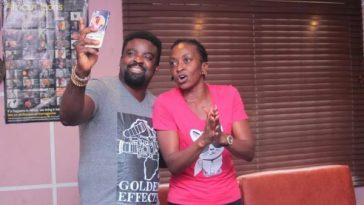 Kunle Afolayan And Kate Henshaw