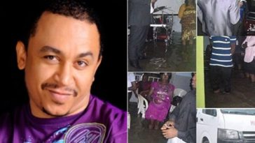 OAP Daddy Freeze Shares Photos of Church Members Holding Service