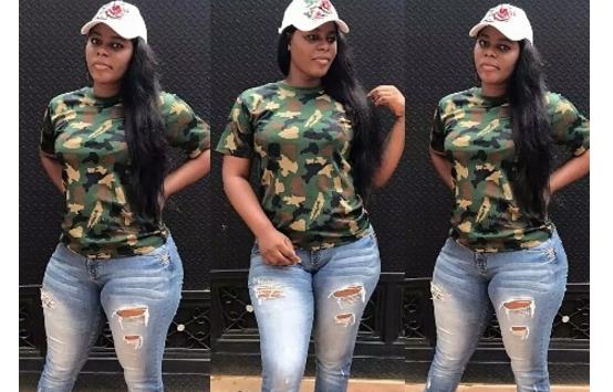 Nigerian Female Soldier