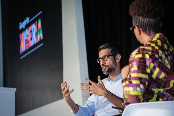 Google CEO Sundar Pichai,