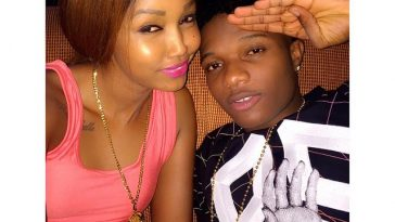 Wizkid Hangs Out With Huddah Monroe In Kenya