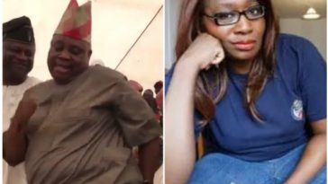 Kemi Olunloyo Says Davido's Uncle, Senator Adeleke Is Obese,