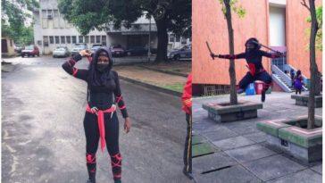 Naija Ninja Woman