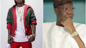 Young6ix Attacks Lai Mohammed