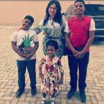 Caroline Danjuma And Her Kids