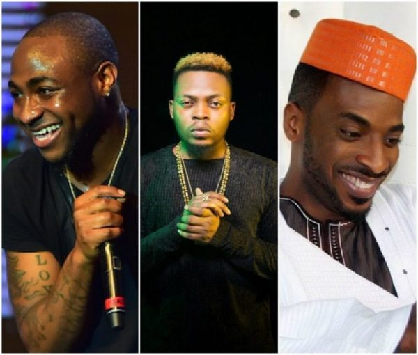 Olamide, 9ice And Davido