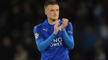 Leicester City Striker, Jamie Vardy