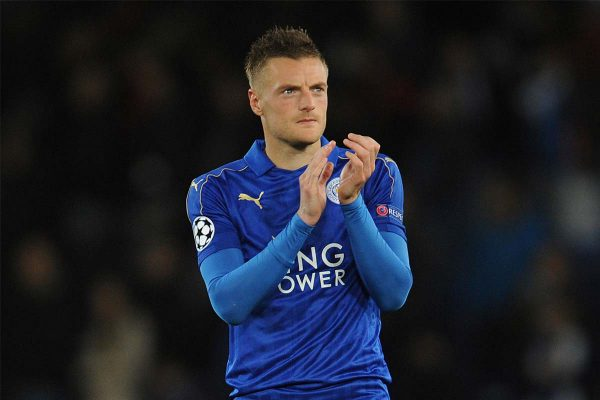 Leicester City Striker, Jamie Vardy