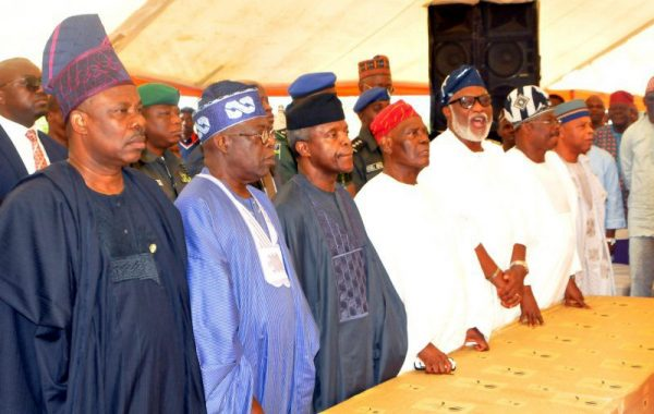 Osinbajo Attends Gov Aregbesola's Mums 8th Day Fidau Prayer