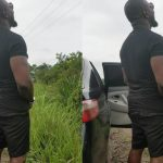 Nigerian Actor, Jim Iyke Spotted Peeing On The High Way