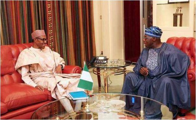 ormer President, Olusegun Obasanjo Visits Muhammadu Buhari In London