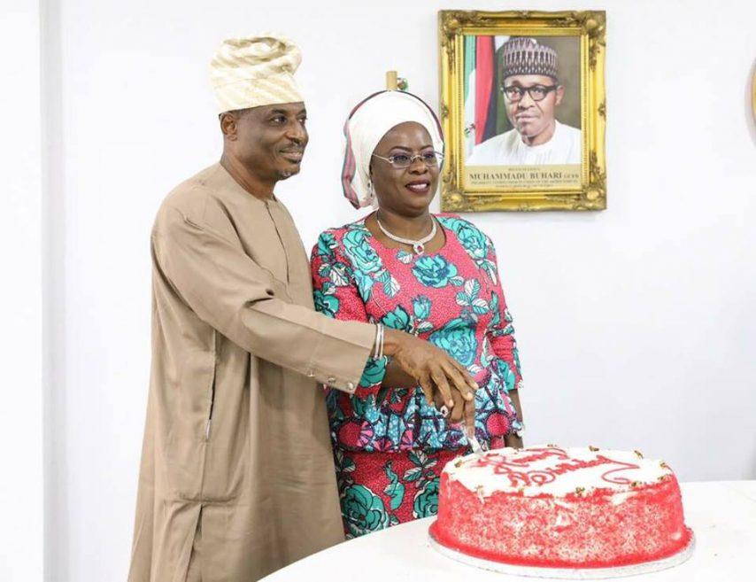 Yetunde Onanuga, celebrates her 57th birthday