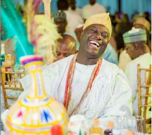 ooni of ife smiling