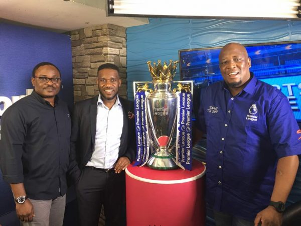 First Images of the Premier League Trophy in Lagos - How ...