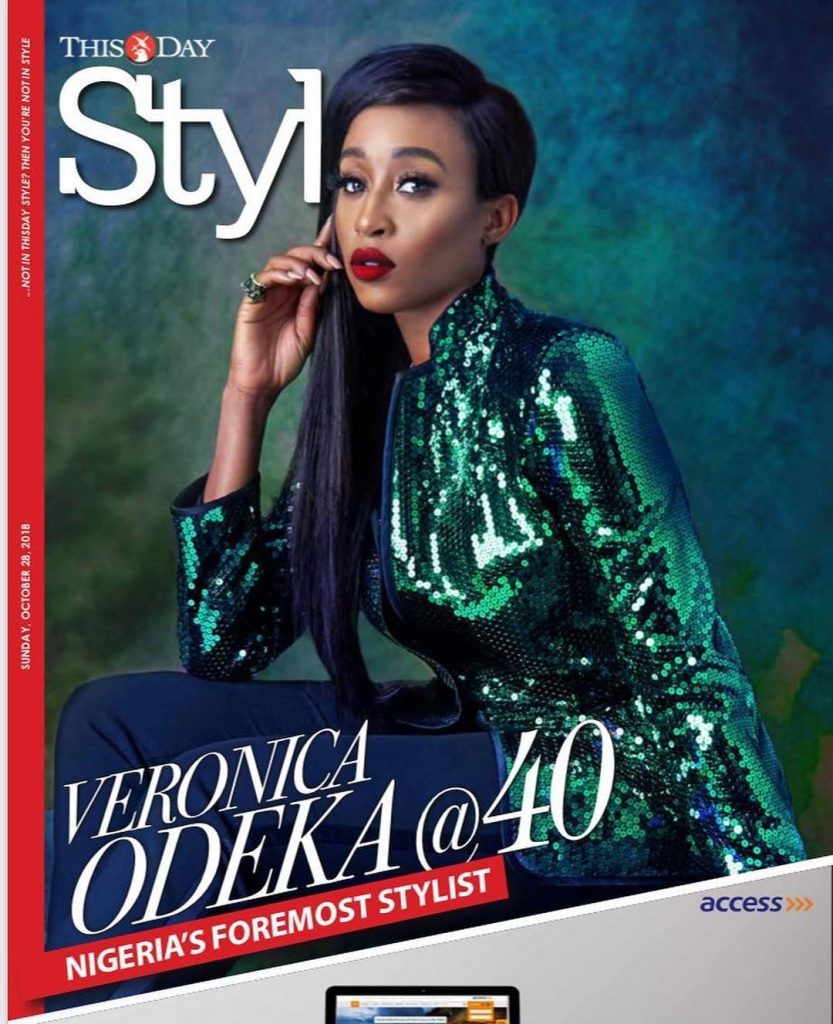 Latest News In Nigeria: Veronica Odeka Covers ThisDay Style Magazine's Latest
