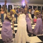 Nigerian wedding dance entrances