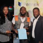Davido Becomes Pennek's Brand Ambassador